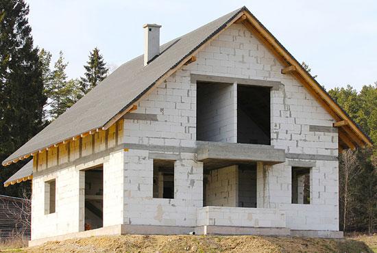 Стоимость домов из пеноблоков своими руками