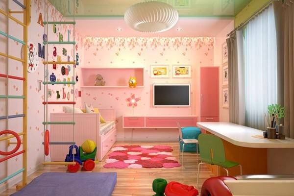 Особый подход к ремонту и обустройству комнаты для детей