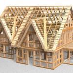 Плюсы и особенности каркасных жилых домов