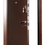 Практичная железная дверь