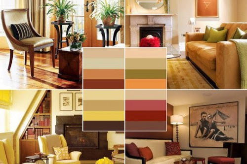 Правильное сочетание цветов в интерьере