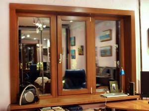 Применение деревянных окон для дачи