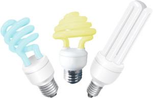 Цветные энергосберегающие лампы