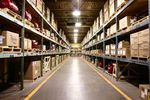 Технология строительства складов