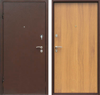 Устанавливаем металлическую входную дверь