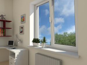 Установленные ПВХ окна