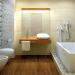 Ванная комната должна излучать теплоту