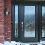 Входная дверь для частного дома