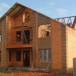 Здание из кирпича