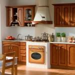 Кухня из дерева: уют и натуральность