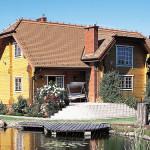 деревянный дом