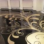 Дизайн и наливной пол