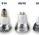 Какие виды имеет цоколь светодиодной лампы