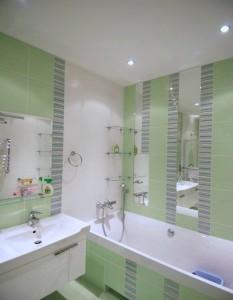 Красивый интерьер для ванной комнаты
