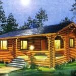 Небольшой деревянный дом