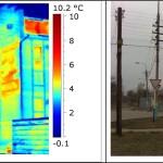 Проведенное тепловизионное обследование