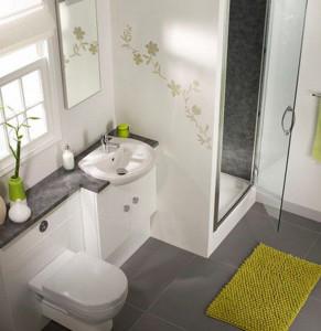 Современный интерьер для ванной комнаты