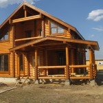 Выбираем деревянный дом по материалу