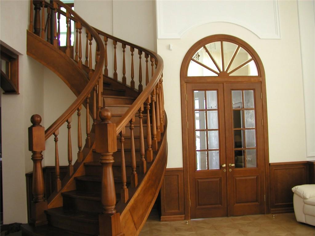 Из какого дерева сделать лестницу фото 742