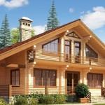Доступное строительство загородного дома из бруса