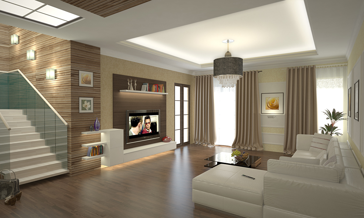 Фото дизайна интерьера загородного дома в