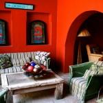 Гостиная в мексиканском этническом стиле
