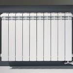 Алюминиевые радиаторы в интерьере