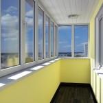 Остекление балкона: особенности