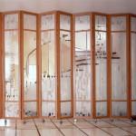 Ширма – интересная деталь при оформлении комнаты
