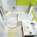 Интерьер маленькой ванной комнаты – как правильно сделать?