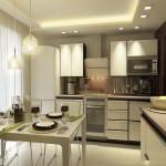 Правильное зонирование кухни
