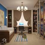 Дизайн детской комнаты ребенка школьника