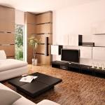 Минимализм в стиле гостиной комнаты