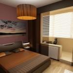 Как увеличить спальню за счет лоджии