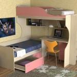 Функциональная детская мебель — двухъярусные кровати