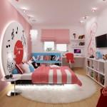 Интерьер комнаты для девочки: пространство мечты