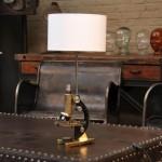 Антикварные лампы в интерьере