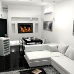 Черно-белый интерьер: современный стиль и элегантность