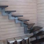 Металлические лестницы – как практичное и надежное изделие для интерьера