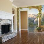 Прикоснуться к искусству: фрески в интерьере