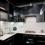Современные кухни черного цвета