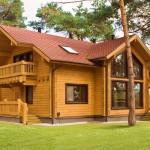 Преимущества строительства брусового дома