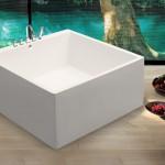 Квадратные ванны: отличительные особенности