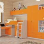 Преимущества детской модульной мебели
