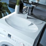 Раковина над стиральной машиной — практичное и стильное решение для тесных санузлов