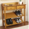 Как сделать в прихожую полку для обуви, фото коллекция