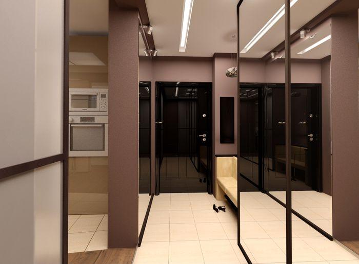 Прихожая для узкого коридора дизайн, фото и рекомендации