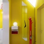 Желтая прихожая: оттенки и правила подбора цвета