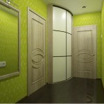 Зеленая прихожая: спокойствие и красота помещения