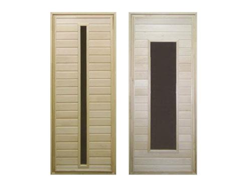 Двери из липы для бани: за и против